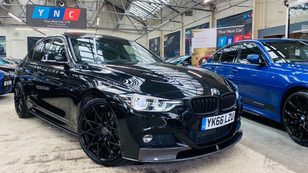 USED 2016 66 BMW 3 SERIES 3.0 330d M Sport Auto xDrive (s/s) 4dr PERFORMANCEKIT+XDRIVE+SROOF