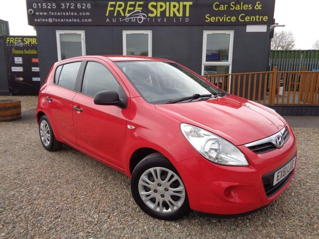 USED 2011 61 HYUNDAI I20 1.2 Classic 5dr 1 Owner, Air Conditioning