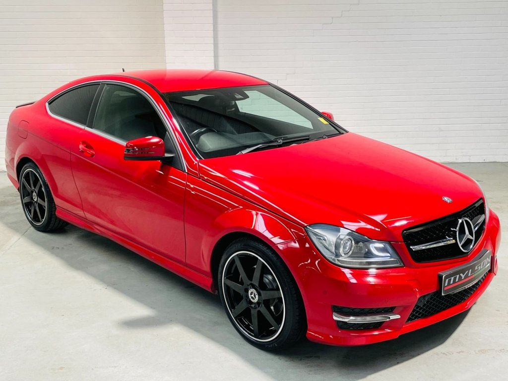 USED 2012 62 MERCEDES-BENZ C-CLASS 2.1 C220 CDI BLUEEFFICIENCY AMG SPORT 2d 170 BHP AMG Pack|Low Miles|AA Inspected|Warranty|PX + FINANCE