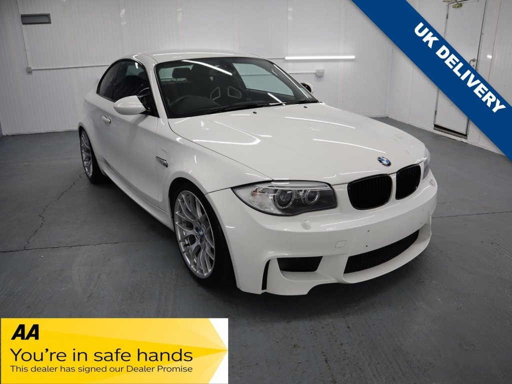 USED 2011 P BMW 1 SERIES 3.0 M 2d 400 BHP CONTEMPORARY CLASSIC LOW MILES GREAT INVESTMENT