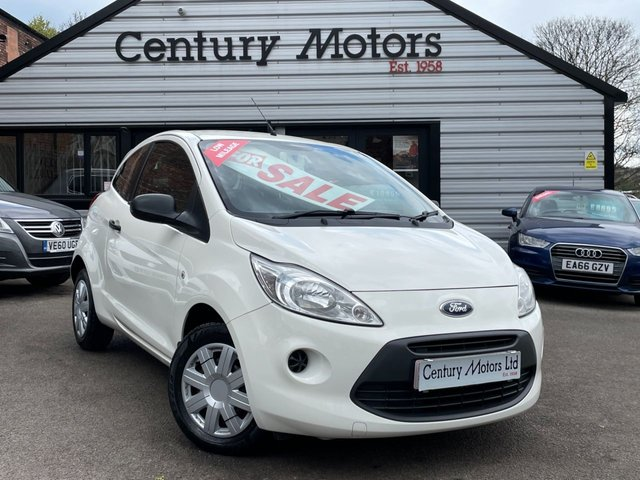 2012 62 FORD KA 1.2 STUDIO 3dr - LOW INSURANCE