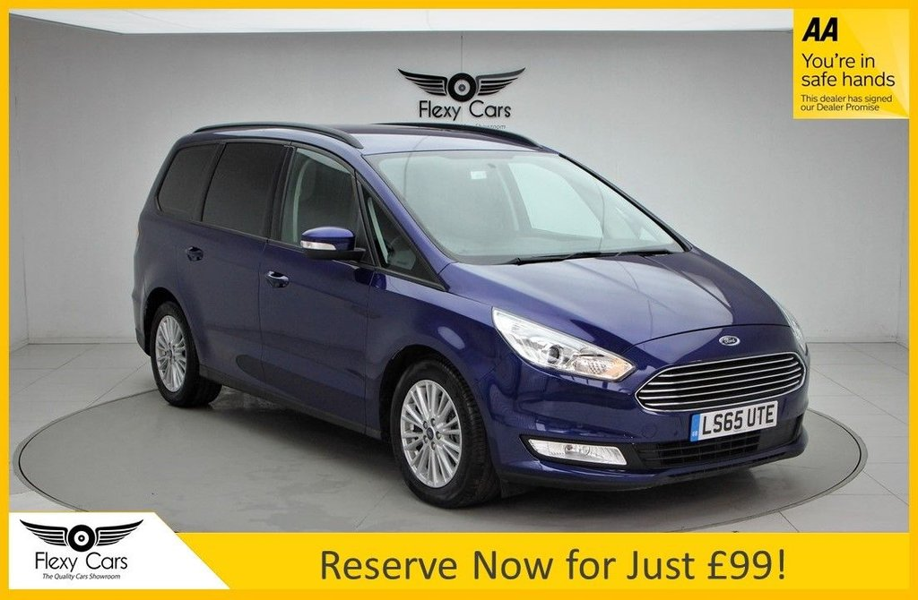 USED 2015 65 FORD GALAXY 2.0 ZETEC TDCI 5d 148 BHP