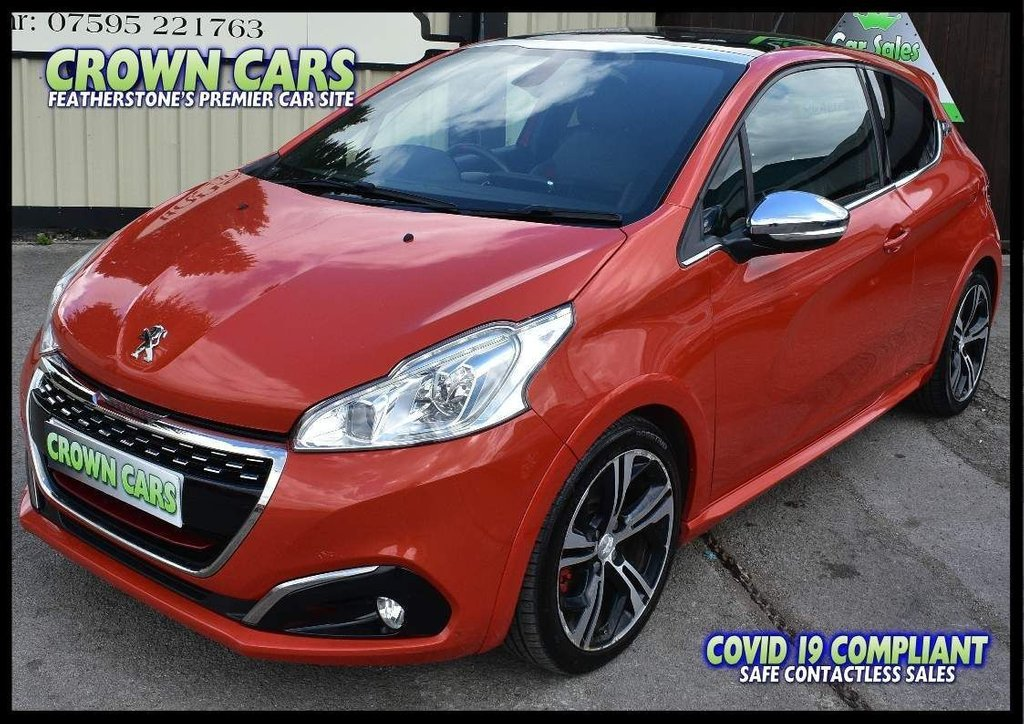 USED 2015 65 PEUGEOT 208 1.6 THP GTi Prestige (s/s) 3dr HOT HATCH PEUGEOT WITH POWER!
