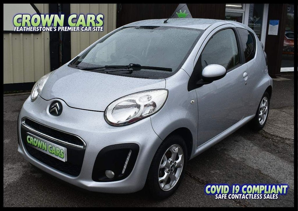 USED 2013 63 CITROEN C1 1.0 i VTR+ 3dr IDEAL FIRST CAR-LOW INSURANCE