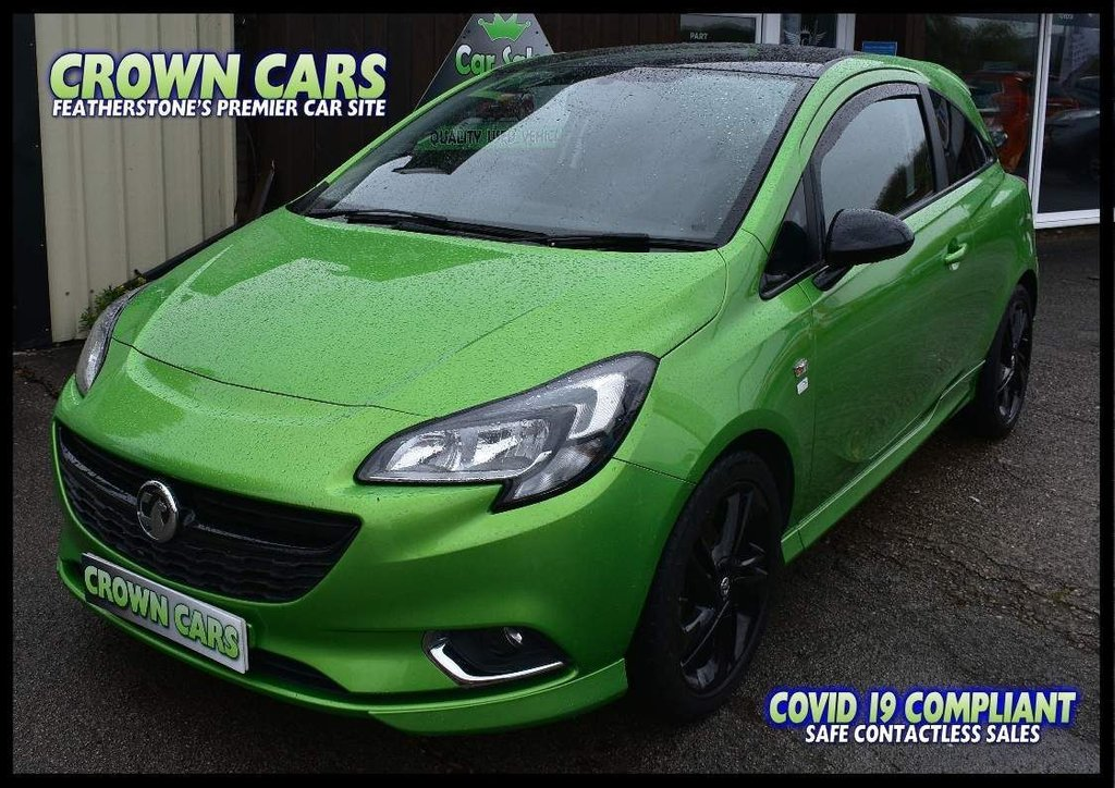 USED 2015 64 VAUXHALL CORSA 1.2i Limited Edition 3dr AMAZING COLOUR & BEST SPEC