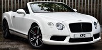 USED 2012 62 BENTLEY CONTINENTAL 4.0 GTC V8 Auto 4WD 2dr (EU5) £163k New, Mulliner, F/B/S/H