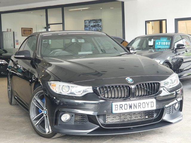 USED 2016 16 BMW 4 SERIES 3.0 435D XDRIVE M SPORT 2d 309 BHP BM PERFORMANCE STYLING+7.9%APR