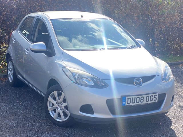 USED 2008 08 MAZDA 2 1.3 TS2 5d  LOW MILEAGE, NEW CLUTCH IN 2019, MAIN DEALER SERVICE HISTORY, MOT UNTIL MARCH 2022