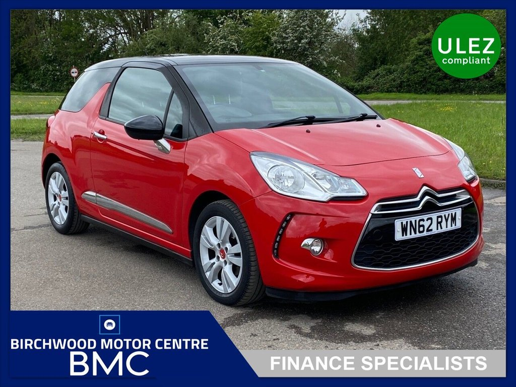 USED 2012 62 CITROEN DS3 1.6 DSTYLE 3d 120 BHP. SERVICE HISTORY AVAILABLE!!!