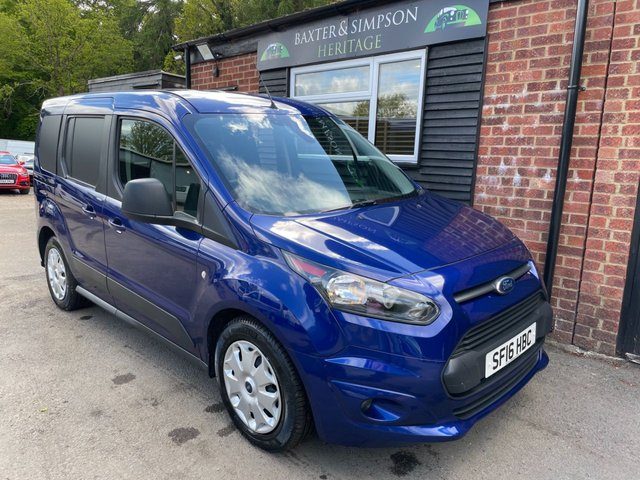 View our FORD TRANSIT CONNECT SWB