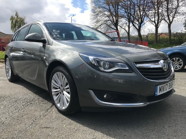 USED 2017 17 VAUXHALL INSIGNIA 1.6 TECH LINE CDTI ECOFLEX S/S 5d 134 BHP 2 KEYS+1 OWNER FROM NEW+£30 ROAD TAX+NAVIGATION+CLIMATE CONTROL+ALLOY WHEELS+PRIVACY GLASS+PARKING SENSORS+HALF LEATHER TRIM+BLUETOOTH+DAB+MEDIA+USB+AUX