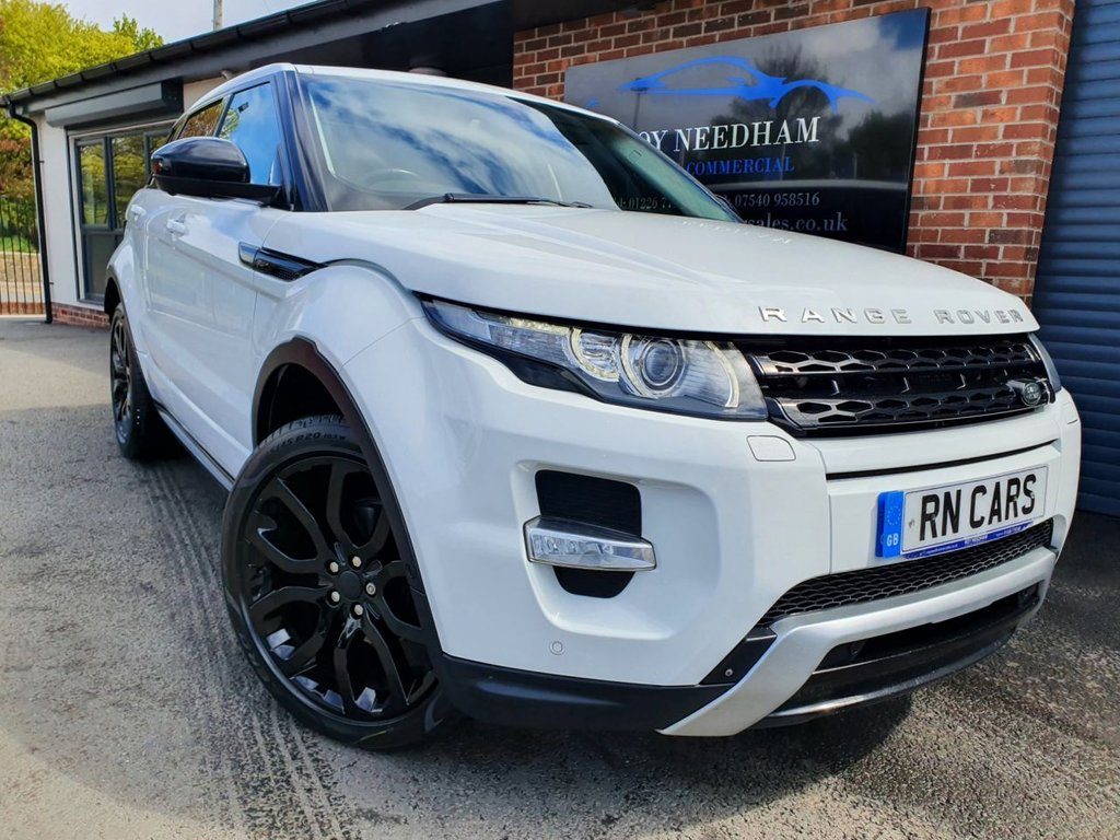 USED 2015 15 LAND ROVER RANGE ROVER EVOQUE 2.2 SD4 DYNAMIC LUX 5DR 190 BHP *** HIGE RANGE OF SPEC ***