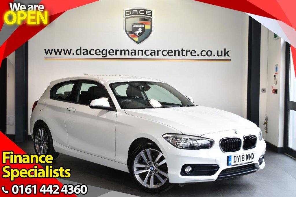 USED 2018 18 BMW 1 SERIES 1.5 116D SPORT 3DR 114 BHP