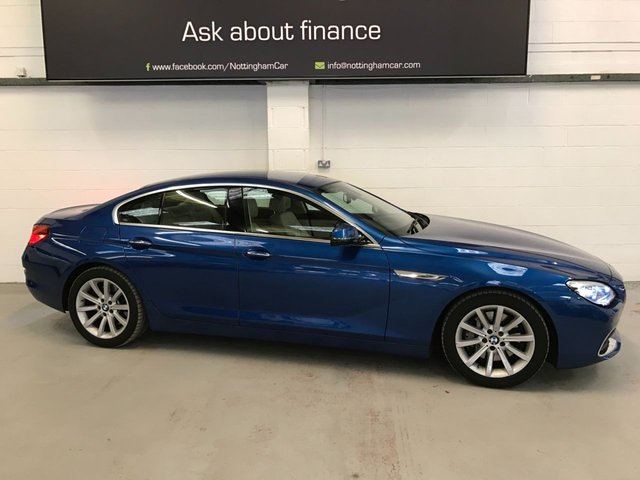 USED 2018 18 BMW 6 SERIES 3.0 640I SE GRAN COUPE 4d 316 BHP
