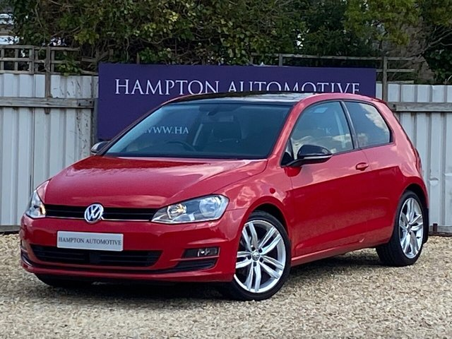 USED 2015 15 VOLKSWAGEN GOLF 1.4 GT TSI ACT BLUEMOTION TECHNOLOGY 3d 148 BHP