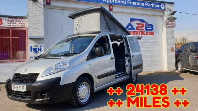 USED 2016 16 PEUGEOT EXPERT Camper Van 2.0 HDI TEPEE COMFORT ++ NO VAT ++ Pop top roof, Electric Rock and roll bed, Sink, Gas Hob, Air con, Cruise, Electric windows, Electric Mirrors and much more ... ++ CAMPER VAN ++