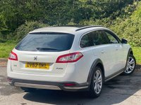 USED 2012 62 PEUGEOT 508 2.0 RXH HYBRID4 5d 200 BHP PANORAMIC GLASS ROOF, 1/2 LEATHER INTERIOR