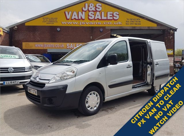USED 2007 07 CITROEN DISPATCH 1.6 1000 L1H1 SWB HDI 90 6 DOOR ( NO V.A.T ) WATCH FULL H/D VIDEO FULL INFO NO VAT