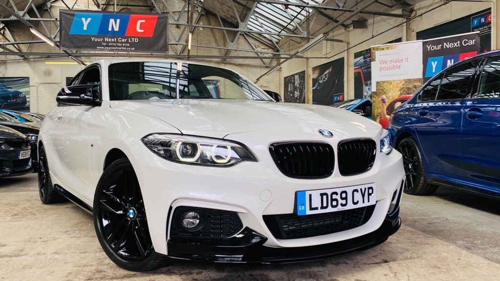 USED 2019 69 BMW 2 SERIES 2.0 218d M Sport Auto (s/s) 2dr PERFORMANCEKIT+FACELIFT+LEDS