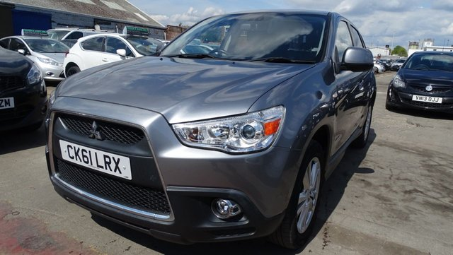 USED 2011 61 MITSUBISHI ASX 1.8 DI-D 4 5d 147 BHP FULL LEATHER-SAT NAV-1 OWNER