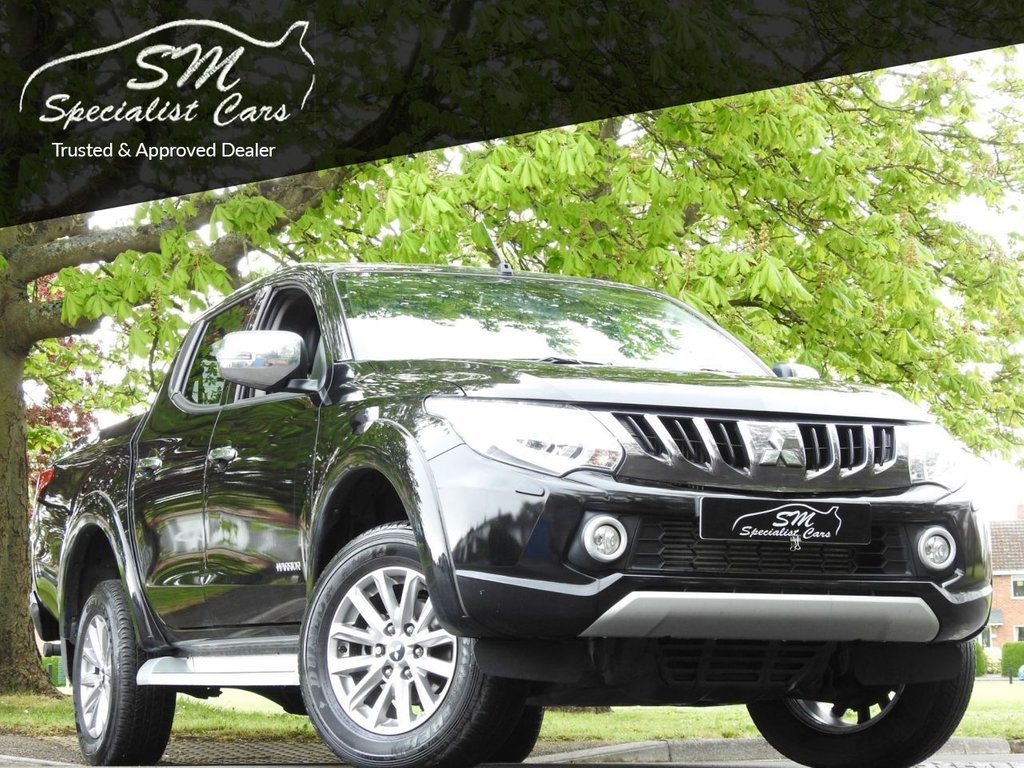 USED 2019 19 MITSUBISHI L200 2.4 DI-D 4WD WARRIOR DCB 178 BHP ONLY 18K FROM NEW A/C + VAT
