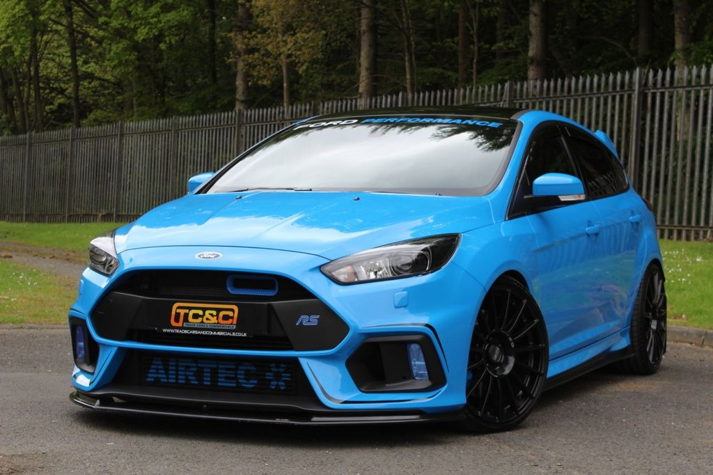 USED 2017 17 FORD FOCUS 2.3 RS 5d 450 BHP A VERY NICE HUGE SPEC, LOW MILEAGE, LOW OWNER FOCUS RS WITH SHELL SEATS, REVO STAGE 2, 20s AND MORE