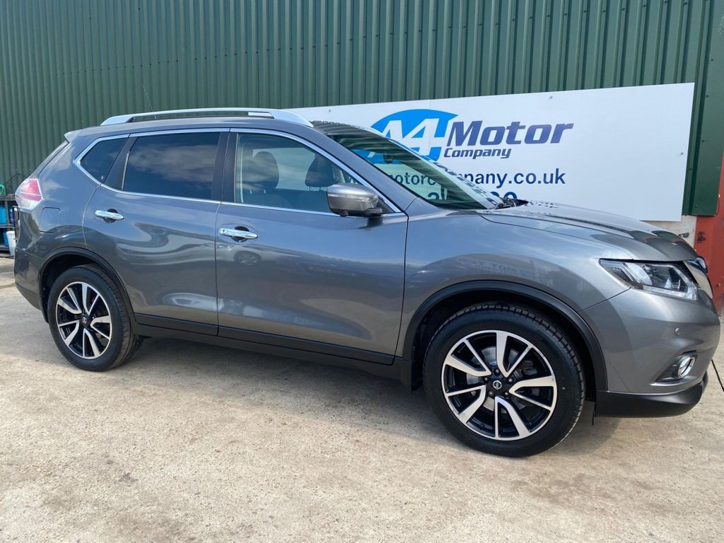 USED 2017 17 NISSAN X-TRAIL 1.6 dCi N-Vision 4WD (s/s) 5dr 7 SEATER! FOUR W DRIVE!