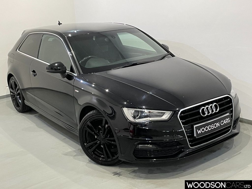 USED 2015 15 AUDI A3 1.6 TDI S LINE 3d 109 BHP Bluetooth / Cruise Control / Privacy Glass / Parking Sensors