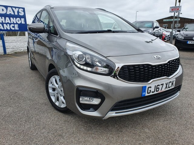 USED 2017 67 KIA CARENS 1.6 2 ISG 5d 133 BHP *** FINANCE & PART EXCHANGE WELCOME *** 7 SEATS SAT/NAV REVERSE CAMERA BLUETOOTH PHONE PRIVACY GLASS CRUISE CONTROL