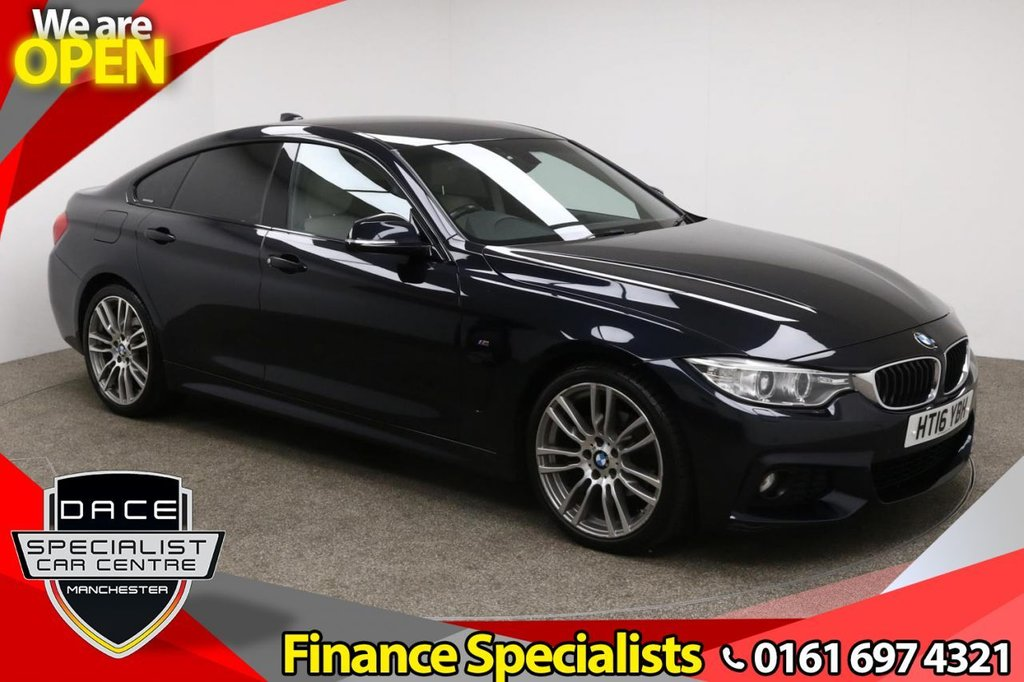 USED 2016 16 BMW 4 SERIES GRAN COUPE 2.0 420I M SPORT GRAN COUPE 4d AUTO 181 BHP