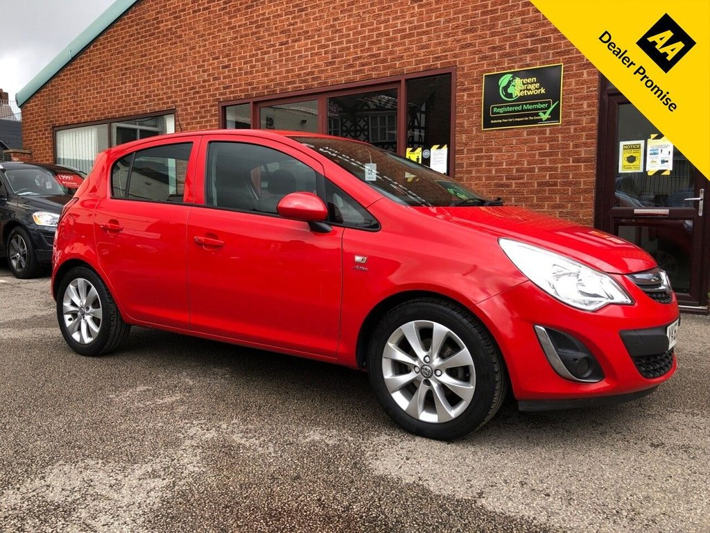 USED 2012 62 VAUXHALL CORSA 1.2 ACTIVE AC 5d 83 BHP Stamped service history :   Cloth upholstery : Isofix fittings : Air-conditioning : Auxiliary input socket : Rear parcel shelf