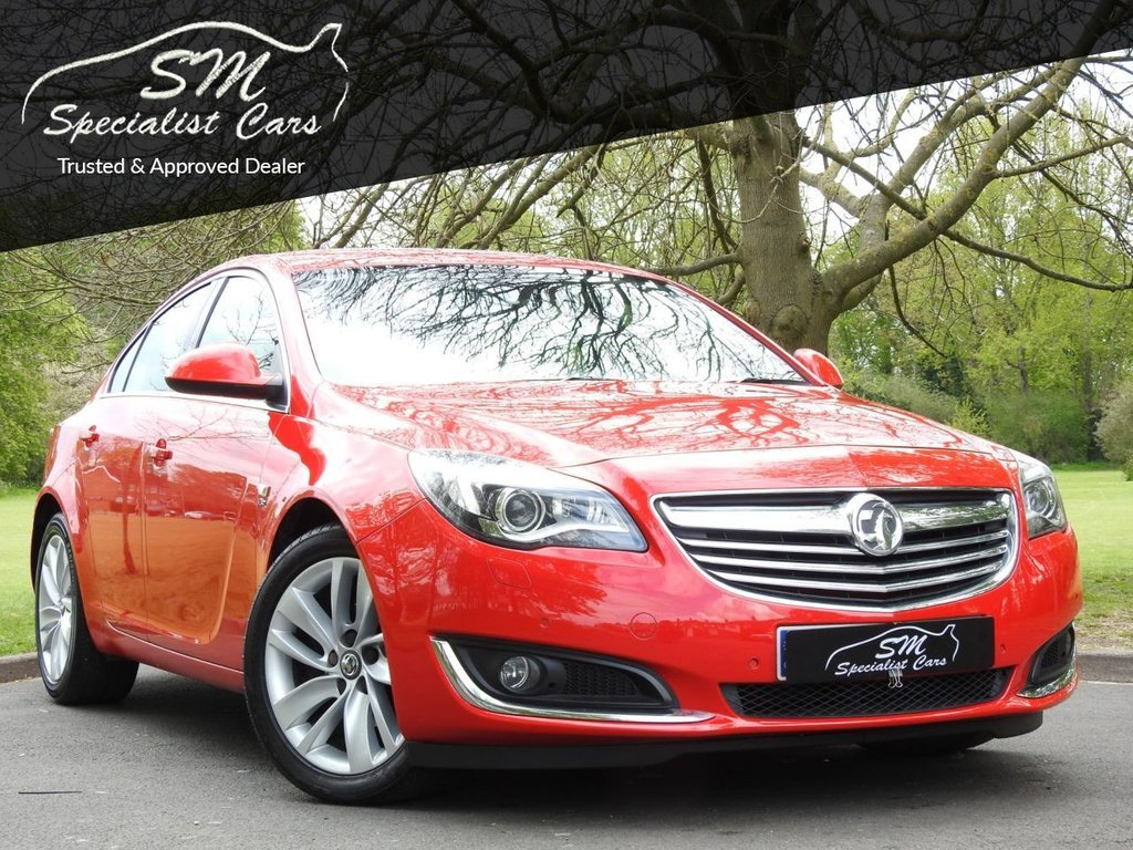 USED 2013 63 VAUXHALL INSIGNIA 2.0 ELITE NAV CDTI ECOFLEX S/S 5d 118 BHP HUGE SPEC 107K LEATHER A/C VGC