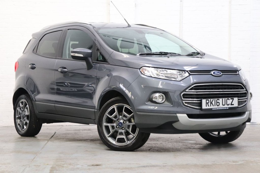 USED 2016 16 FORD ECOSPORT 1.0 TITANIUM 5d 124 BHP Parking Aid + Cruise + Heated Front Seats