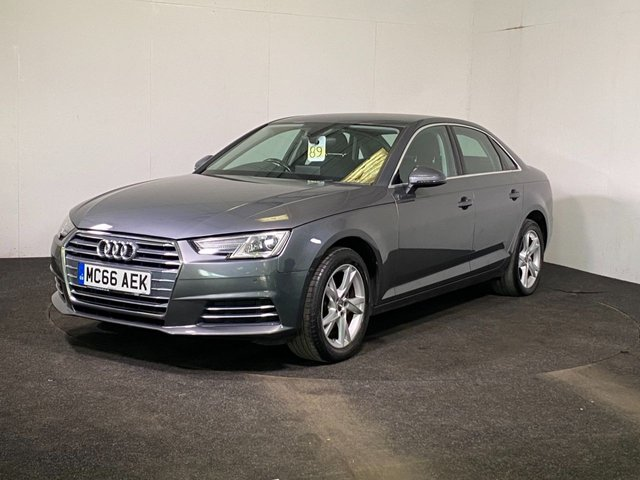 USED 2017 66 AUDI A4 1.4 TFSI SPORT 4d 148 BHP BLUETOOTH+ DAB+PARKING SENSORS