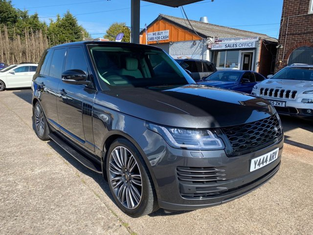 USED 2018 18 LAND ROVER RANGE ROVER 3.0 TDV6 VOGUE 5d 255 BHP