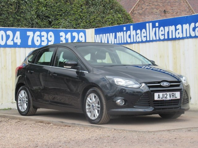 USED 2012 12 FORD FOCUS 2.0 TITANIUM TDCI 5d 139 BHP LOVELY LOW MILES