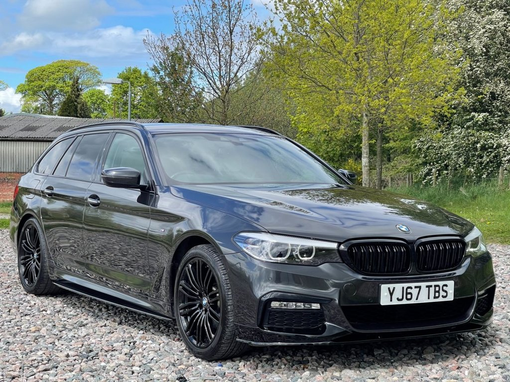 USED 2018 67 BMW 5 SERIES 2.0 520D M SPORT TOURING 5d 188 BHP Free Next Day Nationwide Delivery