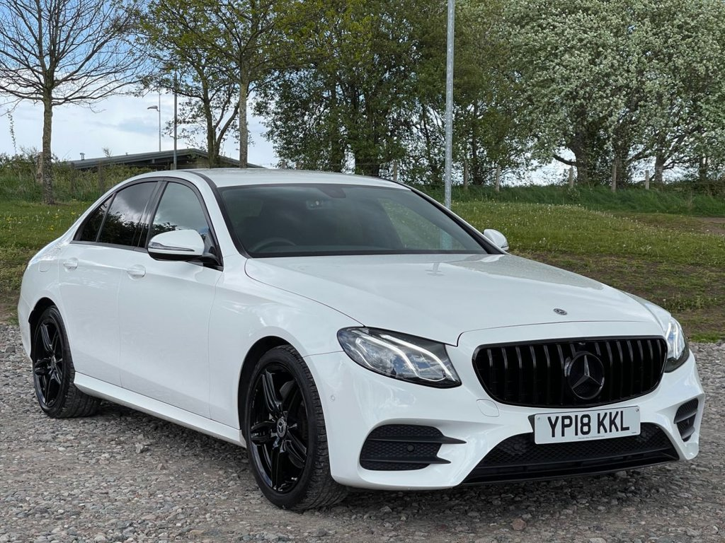 USED 2018 18 MERCEDES-BENZ E-CLASS 2.0 E 220 D AMG LINE 4d 192 BHP Free Next Day Nationwide Delivery