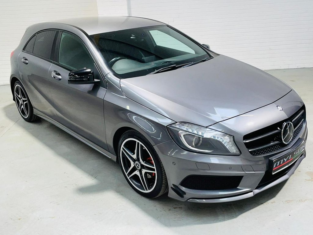 USED 2013 13 MERCEDES-BENZ A-CLASS 1.5 A180 CDI BLUEEFFICIENCY AMG SPORT 5d 109 BHP Exclusive Heated Leather|Night Pack|Low Tax|FINANCE