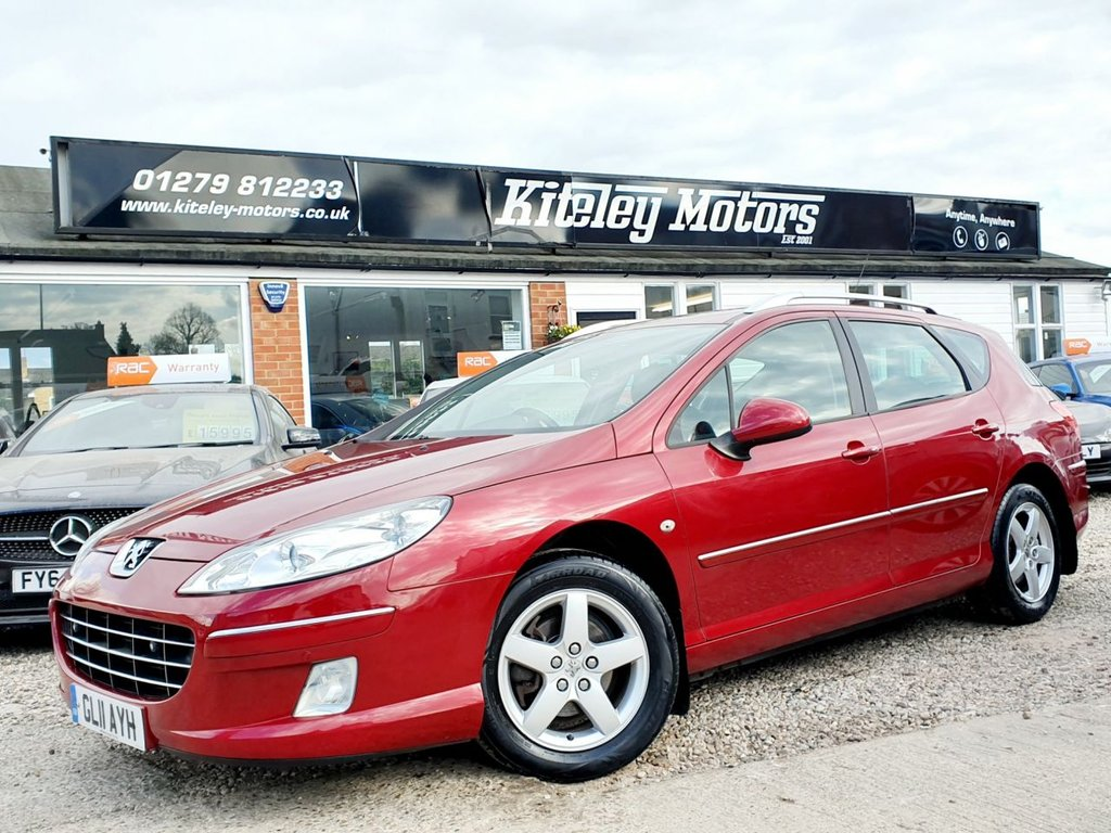 USED 2011 11 PEUGEOT 407 1.6 SW SR HDI 5d 108 BHP SATELLITE NAVIGATION