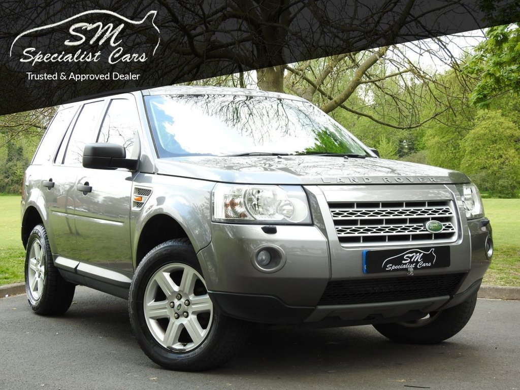 USED 2007 57 LAND ROVER FREELANDER 2.2 TD4 GS 5d 159 BHP ONLY 95K FROM NEW DRIVES GREAT