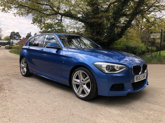 2013 63 BMW 1 SERIES 2.0 125I M SPORT 5d 215 BHP