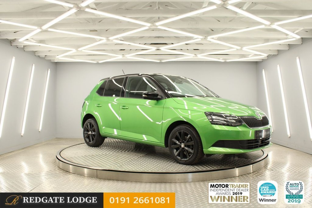 USED 2016 16 SKODA FABIA 1.2 COLOUR EDITION TSI 5d 89 BHP FULL COLOUR SCREEN, MULTIMEDIA INTERFACE AND DAB RADIO, BLUETOOTH CONNECTIVITY, 4 SERVICES...