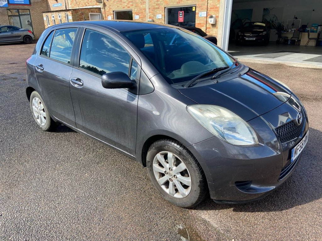 USED 2008 58 TOYOTA YARIS 1.3 TR VVTI 5d 86 BHP - NO OFFERS NO PX - SOLD AS SEEN HATCHBACK