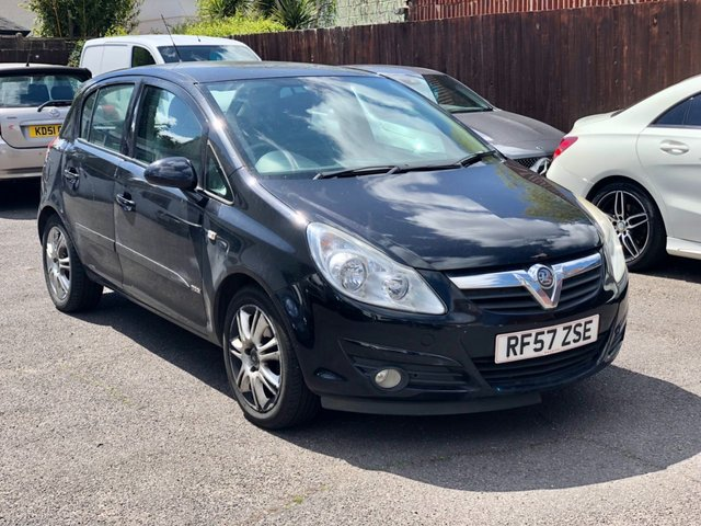 USED 2007 57 VAUXHALL CORSA 1.4 DESIGN 16V 5d 90 BHP Sold For Spares Or Repair