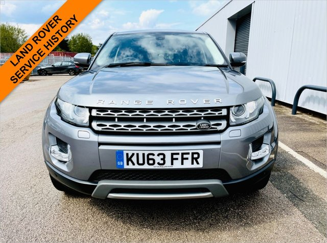 USED 2013 63 LAND ROVER RANGE ROVER EVOQUE 2.2 SD4 PURE TECH 5d 190 BHP LAND ROVER SERVICE HISTORY - PANORAMIC GLASS ROOF - SATELLITE NAVIGATION - INTERIOR AMBIENT LIGHTING - HEATED SEATS