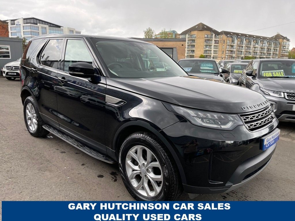 USED 2018 18 LAND ROVER DISCOVERY 2.0 SD4 SE AUTO 5d 237 BHP 7 SEATS