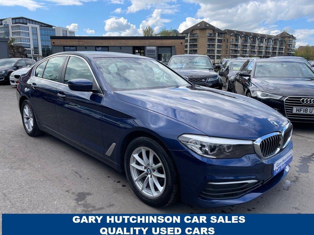 USED 2017 17 BMW 5 SERIES 2.0 520D SE AUTO 4d 188 BHP
