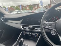 USED 2018 18 ALFA ROMEO GIULIA 2.1 TD SPECIALE 4d 5 Seat Sports Saloon AUTO in Alfa White Spec Including Infotainment system Radio Sat Nav Aux/Bluetooth Cruise Control DNA System Lane Departure Warning Electronic Parking Brake Tyre Pressure Monitoring System Alarm Front Heated Seats Heated Steering Wheel Stunning in Alfa White