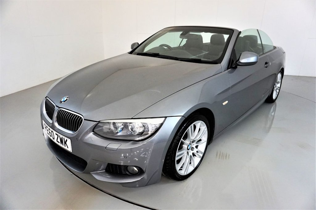 USED 2010 60 BMW 3 SERIES 3.0 325I M SPORT 2d-2 FORMER KEEPERS-HEATED BLACK DAKOTA LEATHER-XENON HEADLIGHTS-PROFESSIONAL NAVIGATION-CLIMATE CONTROL